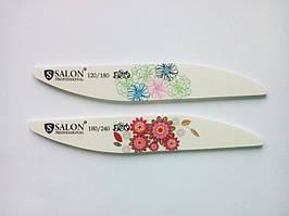 Пилка для нігтів 180/240 тефлон крапля Salon Professional