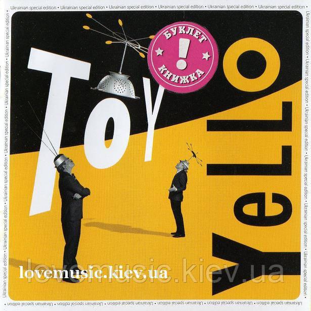 Музичний сд диск YELLO Toy (2016) (audio cd)