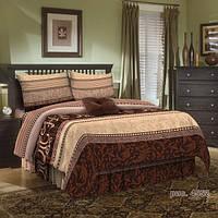 Комплект постельного белья бязь люкс двухспальный Тирамису