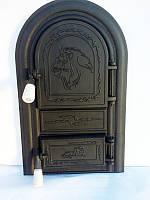 Дверцы для печи Лев Африканский