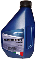 """Масло трансмиссионное минеральное Shark Italian Lubricants """"Protector MEP4 80W-90"""", 1л"""
