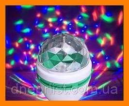 Вращающаяся дисколампа, 3-х цветная / LED