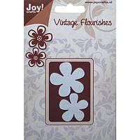 Лезвие Joy! Crafts Dies - Vintage Flourishes — Flowers