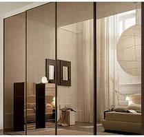 """Дверь купе """"Аврора"""" (2550х700), Зеркало."""