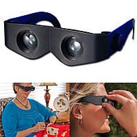 Очки с увеличительным стеклом очки-бинокль Zoomies (Зумис)