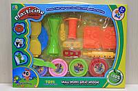 Набор для творчества, пластилин и формочки в коробке 35*28*4 см