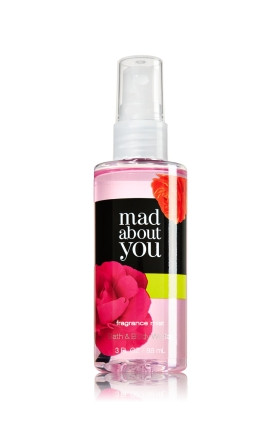 Ароматный спрей для тела Bath and Body works - Mad about You