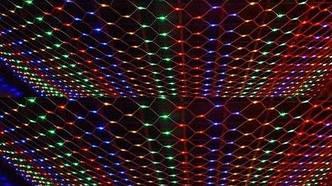 Сетка светодиодная, 120 ламп