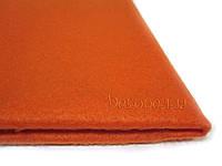 Фетр 1,5мм, 45*50см (оранжевый)
