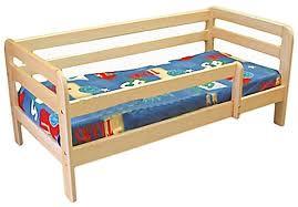 Простая кровать односпальная в детскую Атлантика