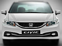"Honda Civic - установка биксеноновых линз Moonlight SUPER G5 2,5"" H1 в фары"