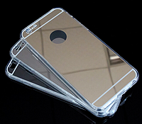 Зеркальный чехол на iPhone 6+