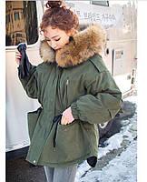 Парка женская Куртка парка Парки женские