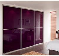 "Дверь купе ""Токио"" (2500х700), Цветное стекло."
