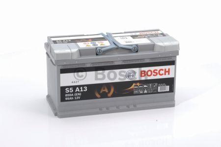 Аккумулятор BOSCH S5 AGM 95Ah , EN850 , для системы START-STOP ( Bosch 0 092 S5A 130 ) 353*175*190 (Д*Ш*В)