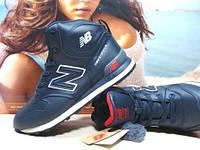 Мужские зимние кроссовки New Balance 1400 синие 42 р.