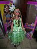 Платье бальное хамелеон (зеленое), фото 6
