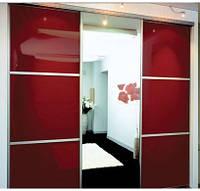 """Дверь купе """"Ирвин"""" (2680х700), Цветное стекло."""