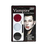 Tri-Color Palette Грим (Vampire) Mehron