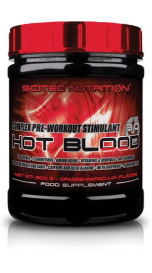 Scitec Nutrition Hot Blood 3.0 820g
