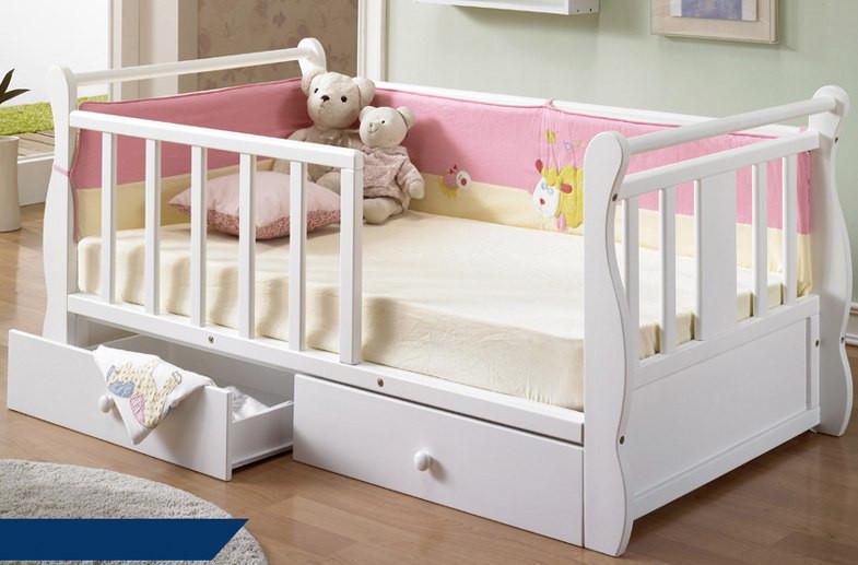 Кровать белого цвета для девочки «Фаура Ван»