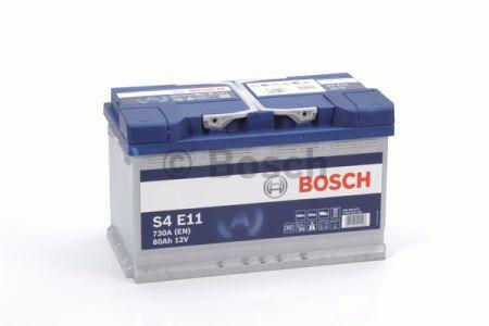 Аккумулятор BOSCH S4 EFB 80Ah , EN730 , для системы START-STOP ( Bosch 0 092 S4E 110 ) 315*175*190 (Д*Ш*В)