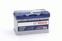 Аккумулятор BOSCH S4 EFB 80Ah , EN730 , для системы START-STOP ( Bosch 0 092 S4E 110 ) 315*175*190 (Д*Ш*В), фото 1