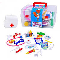 Игровой набор доктор M 0459 U/R, аксессуары доктора в чемоданчике