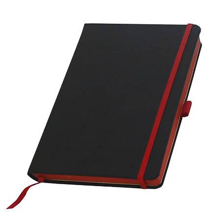 Записные книжки Туксон А5 (Ivory Line), кремовый  блок в линейку, цветной срез