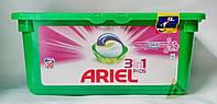 Капсулы для стирки универсал Ariel Lenor 3 в 1 28шт