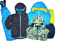 Костюм лыжный для мальчика, Glostory, размеры 92/98,   арт. BXT-6855