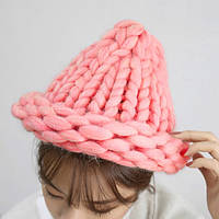 Обьемная шапка