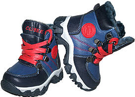 Детские зимние ботинки Clibee Польша размеры 21-26