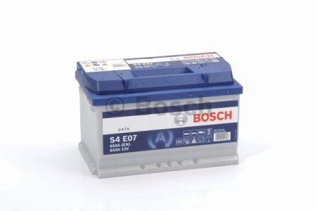 Аккумулятор BOSCH S4 EFB 65 Ah , EN 650 A , для системы START-STOP ( Bosch 0 092 S4E 070 ) 278*175*175 (Д*Ш*В)
