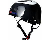 Шлем детский Kiddi Moto бильярдный шар, чёрный, размер S 48-53см