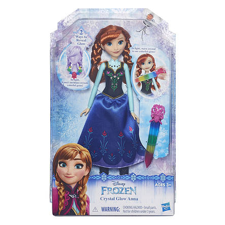 Куклы и пупсы «Disney Frozen» (B6162_B6164) модная кукла Анна (Anna) в сияющем наряде, фото 2