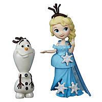 """Куклы и пупсы «Disney Frozen» (B5185) набор маленьких кукол """"Эльза и Олаф (Elsa & Olaf)"""", 7 см"""