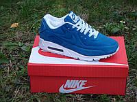 Зимние мужские кроссовки Nike Air Max 90VT light blue р. 44, 45
