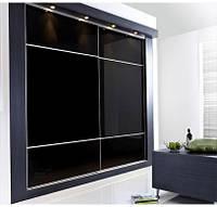 """Дверь купе """"Бруклин"""" (2680х700), Цветное стекло."""