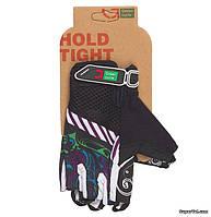 Перчатки женские Green Cycle NC-2331-2014 MTB, XL, черно-фиолетовые
