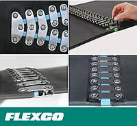 Flexco 1 1/2E Bolt Solid Plate. Механические болтовые неразъемные соединения для лент шириной 11-17 мм