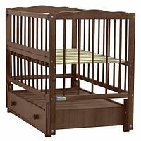 Baby Sleep кроватка Aurora (BKP-S-O) Nussbaum (орех)