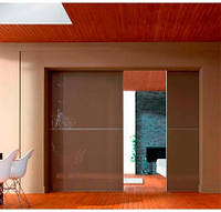 "Дверь купе ""Сеул"" (2500х700), Цветное стекло."
