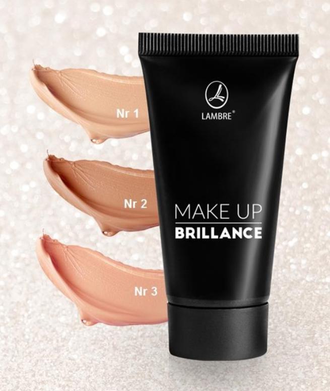 Тональный крем с осветляющим эффектом Make-up BRILLANCE 30 ml - ЛАМБРЕ-СУМЫ в Сумах