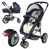 Универсальная детская коляска 809-4 синяя, фото 1