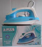 Утюг электрический А-Плюс EL-0073, утюги, пылессосы, паровые швабры, товары для дома