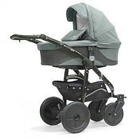KINDER RICH коляска 2в1 Fox Flax (Grey) серый