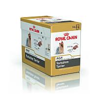Упаковка Royal Canin Yorkshire Terrier Adult - паштет для взрослых собак породы йоркширский терьер, 85г