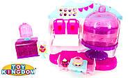 Игровой набор Shopkins Cupcake Queen Cafe Playset Ярмарка вкусов кафе королева кексов