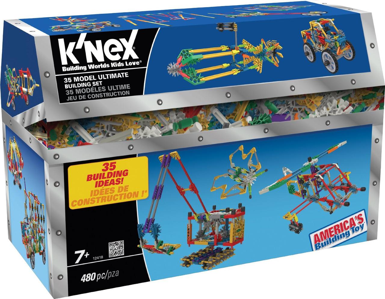 Конструктор   K'NEX  480 деталей 35 моделей США